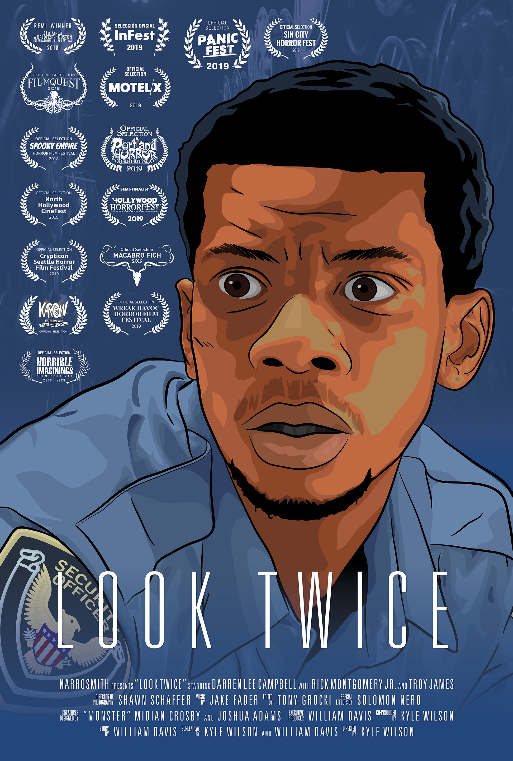 Look Twice Short Film Poster
